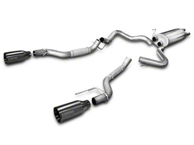 Corsa 3 in. Sport Dual Exhaust System w/ Gunmetal Tips - Rear Exit (17-19 F-150 Raptor)