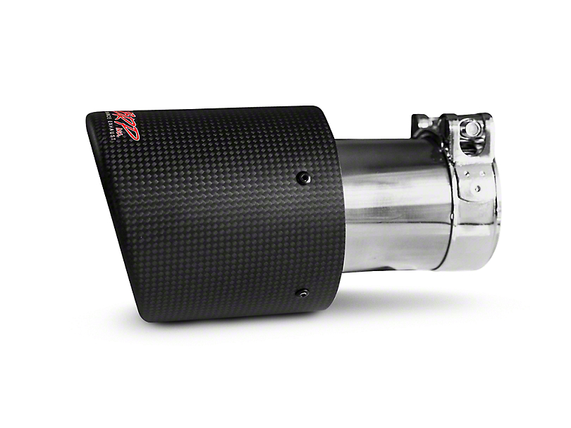 MBRP 4 in. Exhaust Tip - Carbon Fiber - 3 in. Connection (97-18 All)