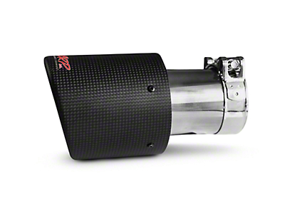 MBRP 4 in. Exhaust Tip - Carbon Fiber - 2.5 in. Connection (97-18 All)