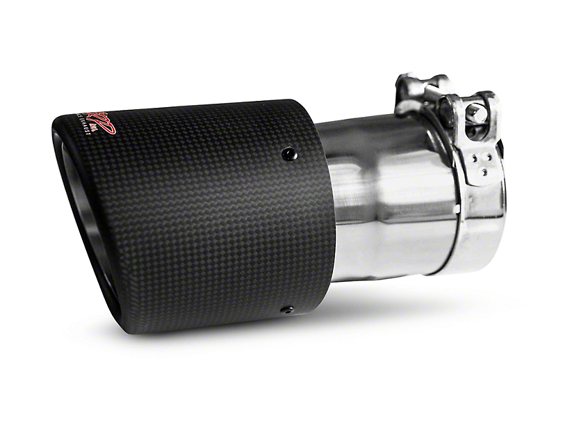 MBRP 4.5 in. Exhaust Tip - Carbon Fiber - 3 in. Connection (97-18 F-150)
