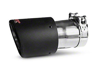 MBRP 4.5 in. Exhaust Tip - Carbon Fiber - 3 in. Connection (97-18 All)