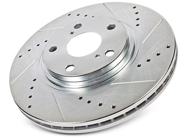 Power Stop Evolution Cross-Drilled & Slotted 6-Lug Rotors - Front Pair (09-17 2WD/4WD)
