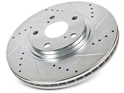 Power Stop Evolution Cross-Drilled & Slotted 6-Lug Rotors - Front Pair (09-18 2WD/4WD F-150)