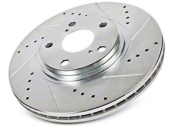 Power Stop Evolution Cross-Drilled & Slotted 6-Lug Rotors - Front Pair (10-19 2WD/4WD F-150)