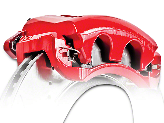 Power Stop Performance Front Brake Calipers - Red (04-08 2WD/4WD F-150)