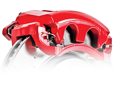 Power Stop Performance Rear Brake Calipers - Red (04-14 2WD/4WD F-150; 15-18 F-150 w/ Manual Parking Brake)
