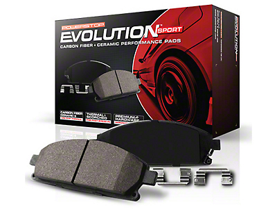Power Stop Z23 Evolution Sport Ceramic Brake Pads - Front Pair (04-08 2WD/4WD F-150)