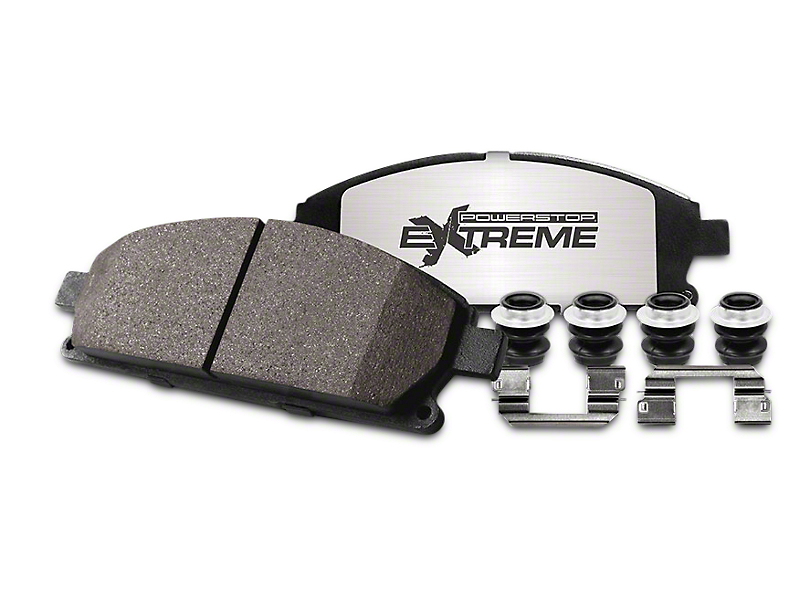 Power Stop Z36 Extreme Truck & Tow Carbon-Ceramic Brake Pads - Rear Pair (04-17 2WD/4WD)