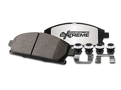 Power Stop Z36 Extreme Truck & Tow Carbon-Ceramic Brake Pads - Rear Pair (04-11 2WD/4WD)