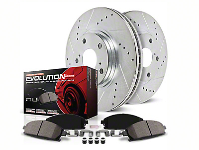 Power Stop Z23 Evolution Sport Brake 8-Lug Rotor & Pad Kit - Rear (00-03 2WD)