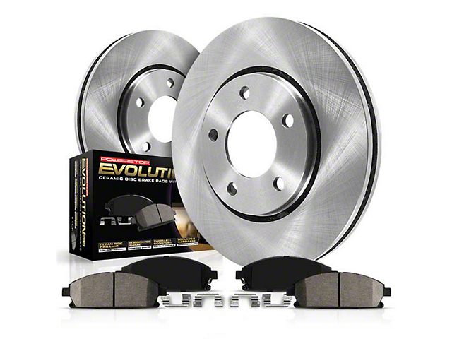 Power Stop OE Replacement 8-Lug Brake Rotor & Pad Kit - Front (00-03 2WD)