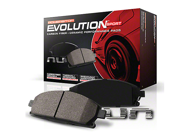 Power Stop Z23 Evolution Sport Ceramic Brake Pads; Rear Pair (99-03 F-150 Lightning; Late 00-03 F-150 5 or 7-Lug w/ Rear Disc Brakes)