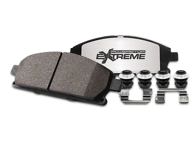 Power Stop Z36 Extreme Truck & Tow Carbon-Ceramic Brake Pads - Front Pair (97-03 All)