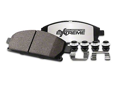 Power Stop Z36 Extreme Truck & Tow Carbon-Ceramic Brake Pads - Front Pair (97-03 w/ 5-Lug)