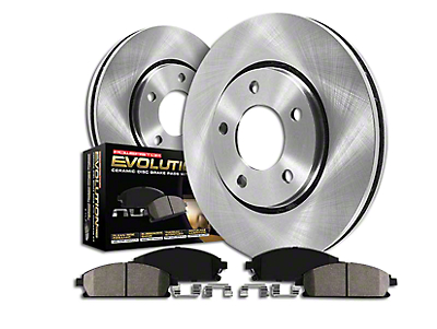 Power Stop OE Replacement Brake Rotor & Pad Kit - Front & Rear (Late 00-03 Lightning)
