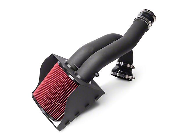 SR Performance Cold Air Intake - Wrinkle Black (15-17 2.7L EcoBoost F-150)