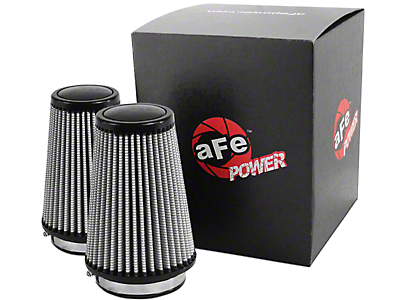 AFE Replacement Magnum FLOW Pro DRY S Cold Air Intake Air Filters (11-14 3.5L EcoBoost F-150)