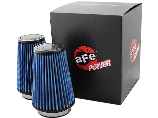 AFE Cold Air Intake Replacement Magnum FLOW Pro 5R Air Filters (11-14 3.5L EcoBoost)