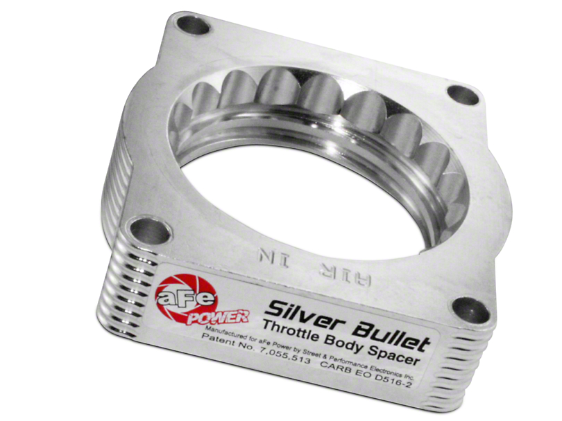 AFE Silver Bullet Throttle Body Spacer (04-10 5.4L)
