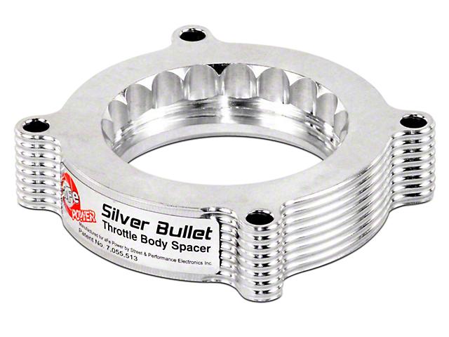 AFE Silver Bullet Throttle Body Spacer (10-14 6.2L)