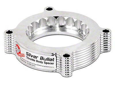 AFE Silver Bullet Throttle Body Spacer (10-14 6.2L F-150)
