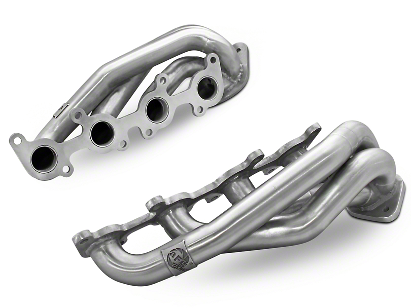 AFE 1-5/8 in. Twisted Steel Shorty Headers (11-18 5.0L F-150)
