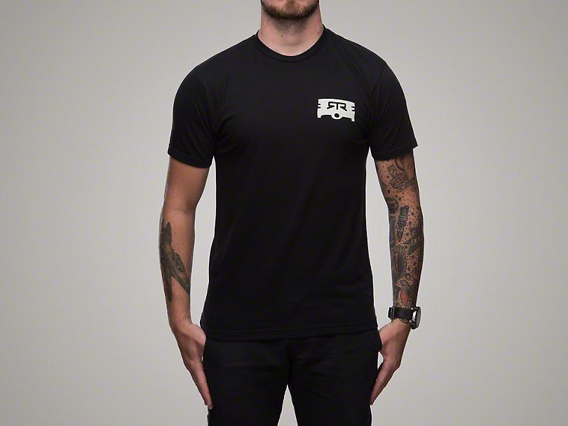 RTR Black Piston T-Shirt