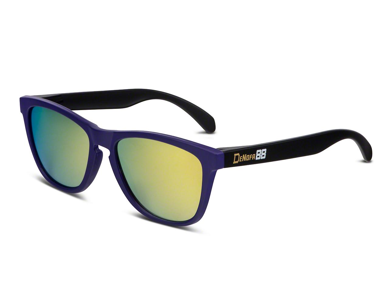 RTR CD Signature Status Sunglasses - Black/Purple