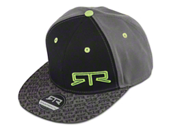 bfe6380df45cf RTR Snap Back Hat - Gray   Green  25.00