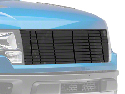 T-REX Laser Billet Upper Replacement Grille - Black (10-14 F-150 Raptor)