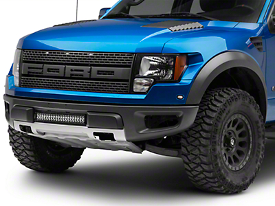 T-REX Torch Series Center Bumper Mounting Brackets w/ 20 in. LED Light Bar (10-14 F-150 Raptor)