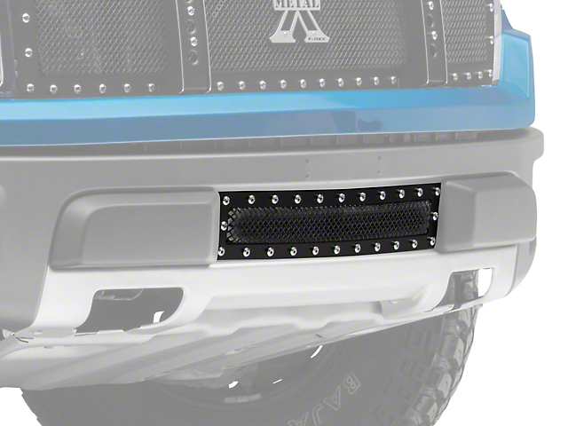 T-REX X-Metal Series Lower Bumper Grille Insert - Black (10-14 F-150 Raptor)