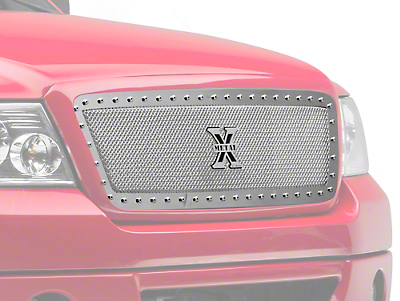 T-REX X-Metal Series Upper Replacement Grille - Polished (04-08 F-150)