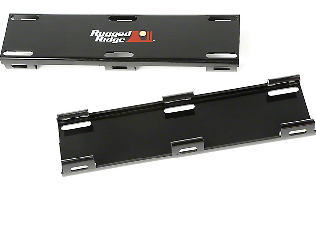 Rugged Ridge 20 in. LED Light Bar Cover Kit - Black (97-18 All)