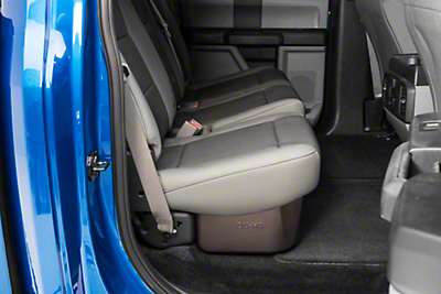 DU-HA Underseat Storage - Brown (15-18 F-150 SuperCab, SuperCrew)