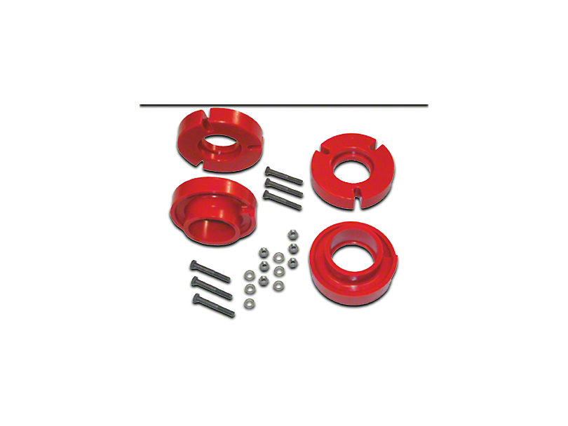 SkyJacker 2.5 in. Front Polyurthane Spacer Leveling Kit (04-08 4WD F-150)