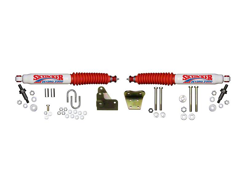 SkyJacker Hydro 7000 Dual Steering Stabilizer Kit for Skyjacker 6 in. Lift (97-03 4WD)