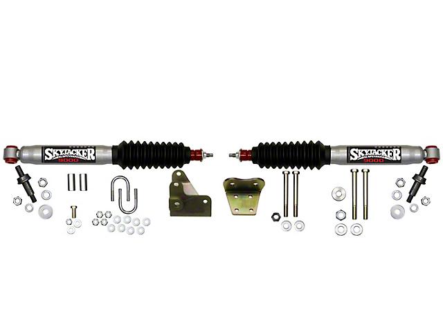 SkyJacker Silver 9000 Dual Steering Stabilizer Kit for Skyjacker 6 in. Lift (97-03 4WD F-150)