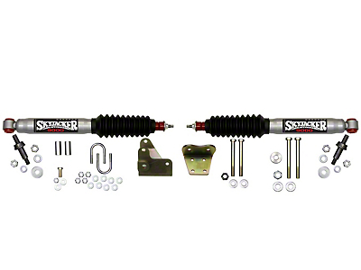 SkyJacker Silver 9000 Dual Steering Stabilizer Kit for Skyjacker 6 in. Lift (97-03 4WD)