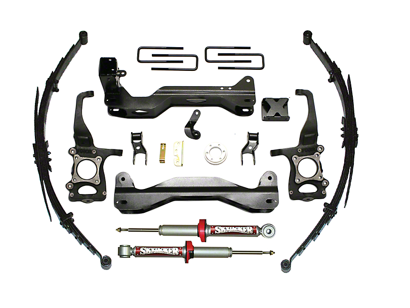SkyJacker 4-6 in. Performance Suspension Lift System w/ Shocks (09-12 4WD F-150, Excluding Raptor)
