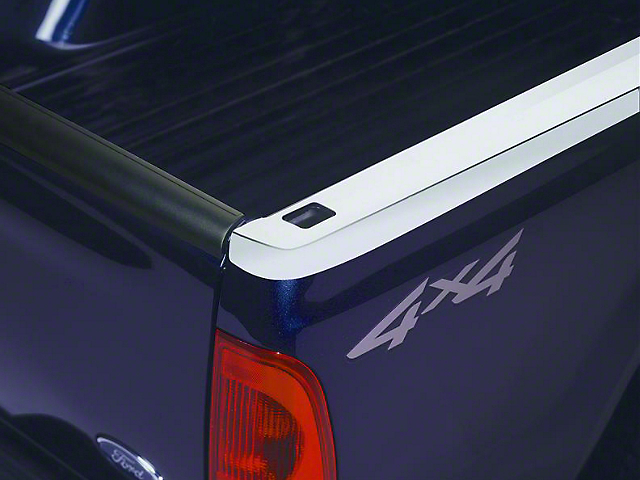 Putco Bed Rail Skin w/ Pocket Holes - Stainless (97-03 F-150 Styleside w/ 6.5 ft Bed)