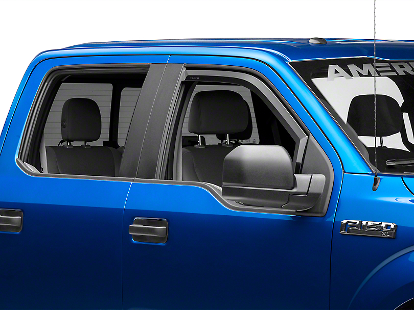 Putco Element Tinted Window Visors - Fronts Only (15-18 F-150)