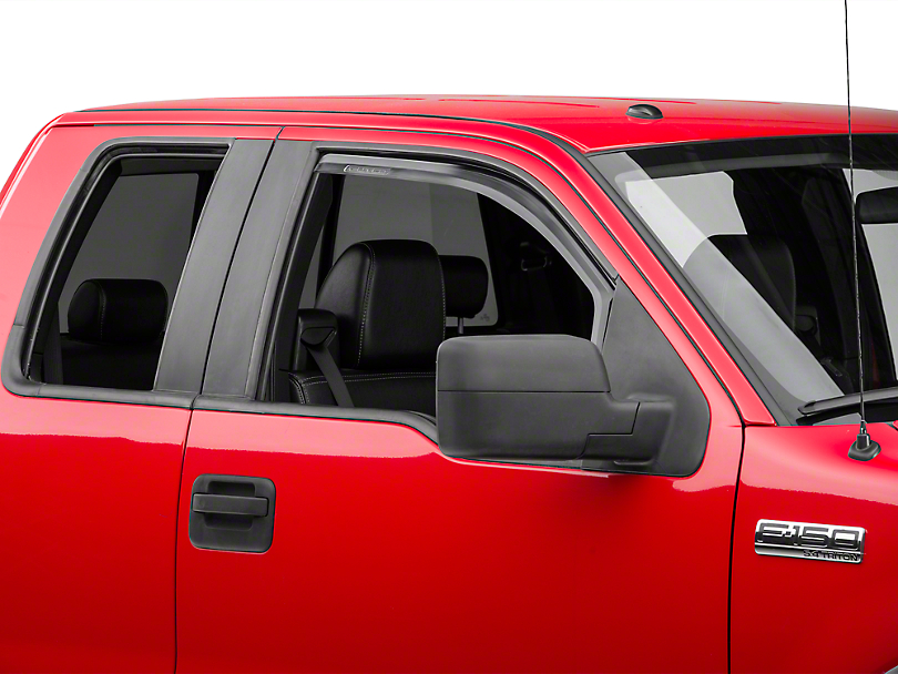 Putco Element Tinted Window Visors - Fronts Only (04-08 Regular Cab, SuperCab)