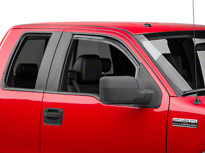 Putco Element Tinted Window Visors - Fronts Only (04-08 F-150 Regular Cab, SuperCab)