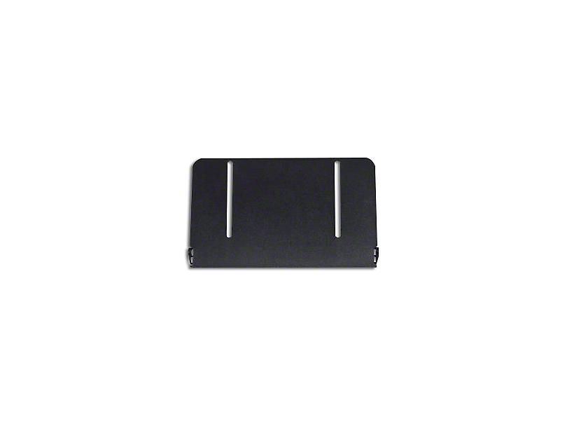 Putco License Plate Frame for 10 in. Luminux LED Light Bar (97-18 All)