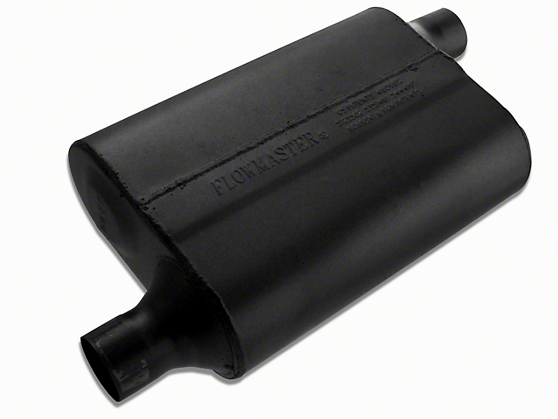 Flowmaster 40 Series Delta Flow Offset/Offset Oval Muffler - 2.0 in. (97-18 All)