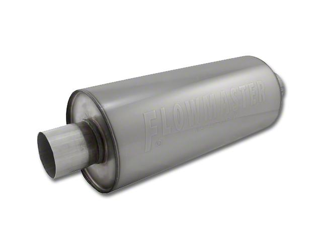 Flowmaster DBX Series Center/Center Bullet Style Muffer - 2.25 in. (97-18 All)