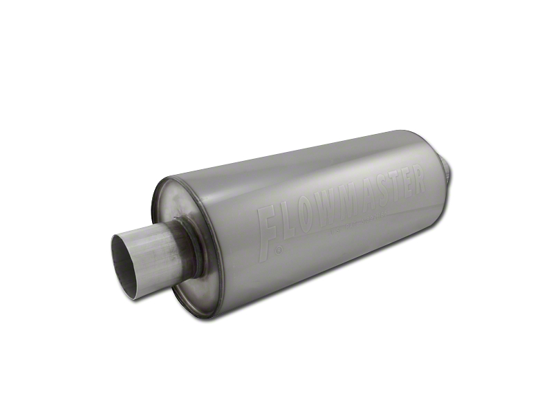 Flowmaster DBX Series Center/Center Bullet Style Muffer - 2.5 in. (97-18 F-150)