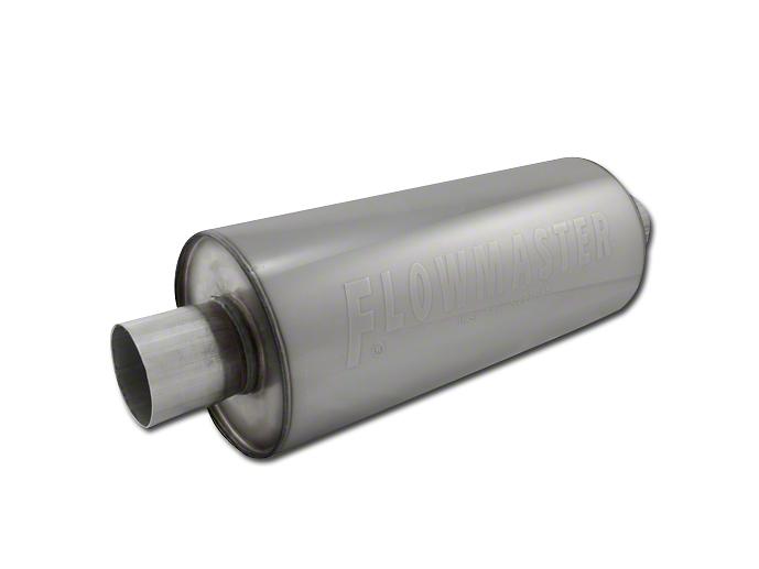 Flowmaster DBX Series Center/Center Bullet Style Muffer - 2.5 in. (97-18 All)