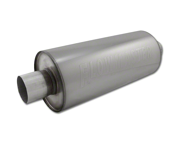 Flowmaster DBX Series Center/Center Bullet Style Muffler - 3.0 in. (97-18 All)